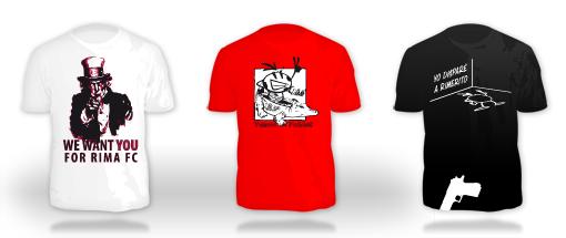 Camisetas RIMAFC 27agosto2009