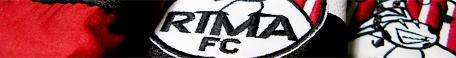 Detalle del escudo de la camiseta del RIMA F.C.